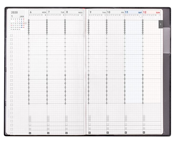 Sổ tay quản lý thời gian theo tuần